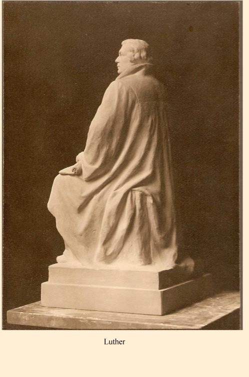 Statuette Luther